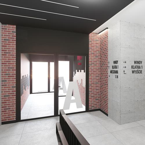 Budynek mieszkalny wielorodzinny w Warszawie.  Archimo M2 Architektura Katowice - Pracownia Projektowa Katowice