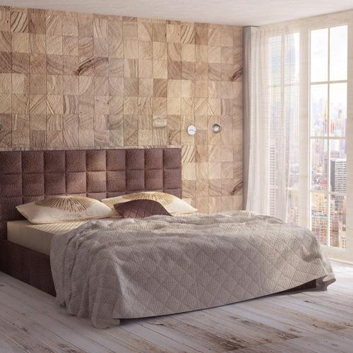 Projekt wnętrza sypialni. M2 Architektura - Pracownia Projektowa Katowice.
