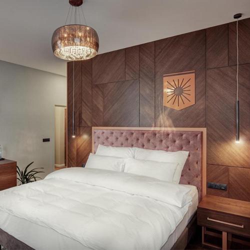 Realizacja przebudowy hotelu przebiegła zgodnie z projektem wnętrza wykonanym przez naszą pracownię architektoniczną.